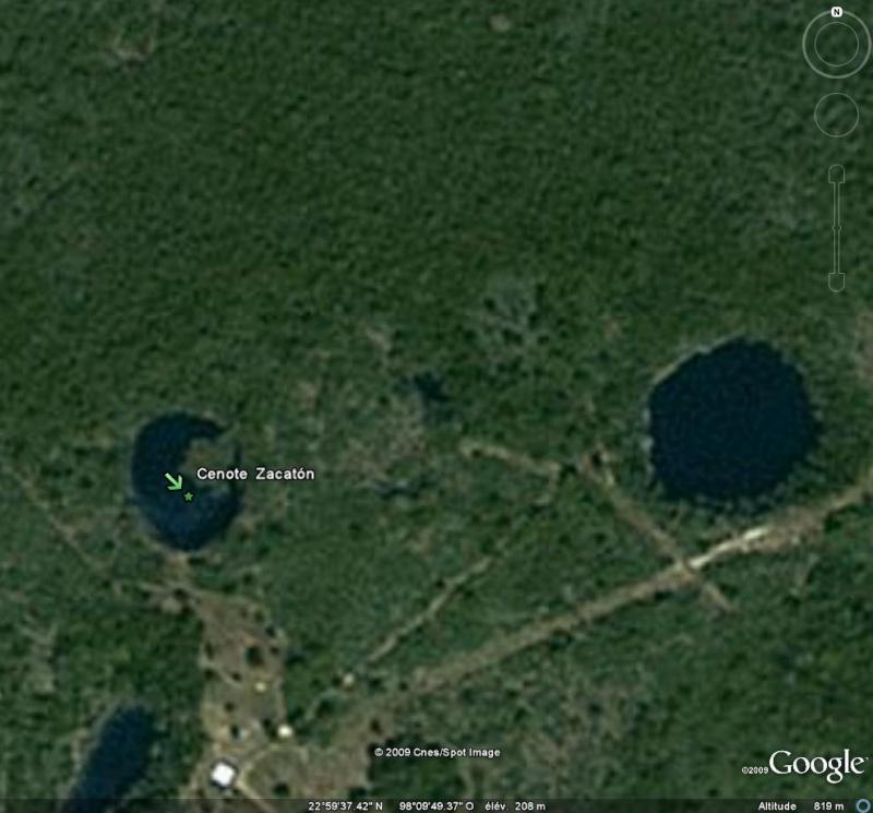 TROUS BLEUS & Cenotes  / Trou Marin / Trou Bleu / Blue Hole / Monde Cza10