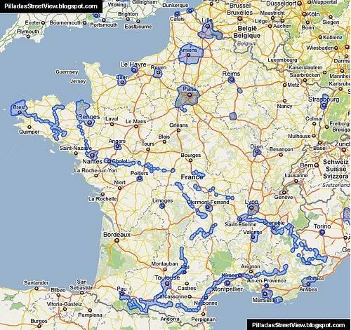 Autres systèmes du type STREETVIEW dans le Monde France10
