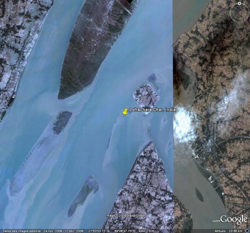 Ile disparue - Lohachara - Delta du Gange - Inde Ge10