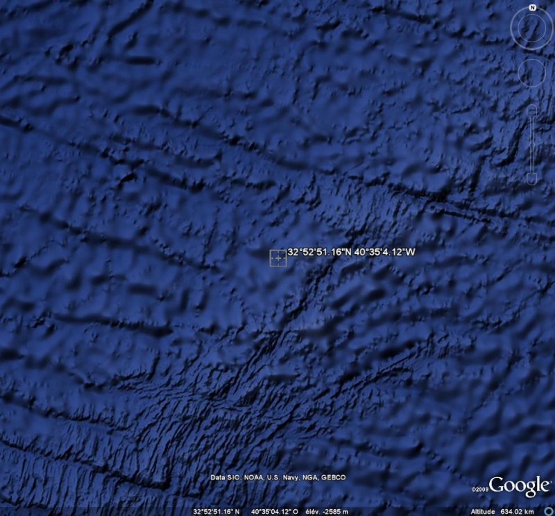 Curieuse formation, naturelle ? , océan atlantique, Ge11