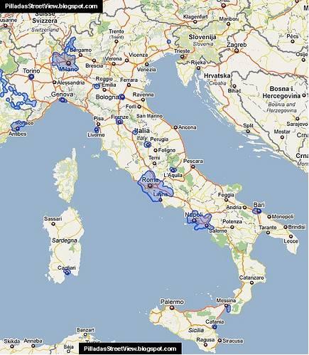 Autres systèmes du type STREETVIEW dans le Monde Italy10