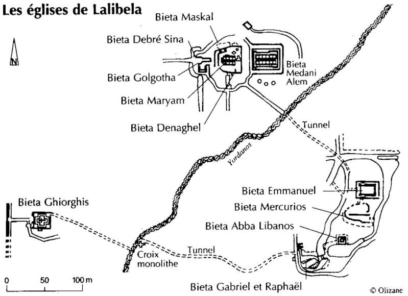 Les églises monolithes et troglodytiques    Lalibe10