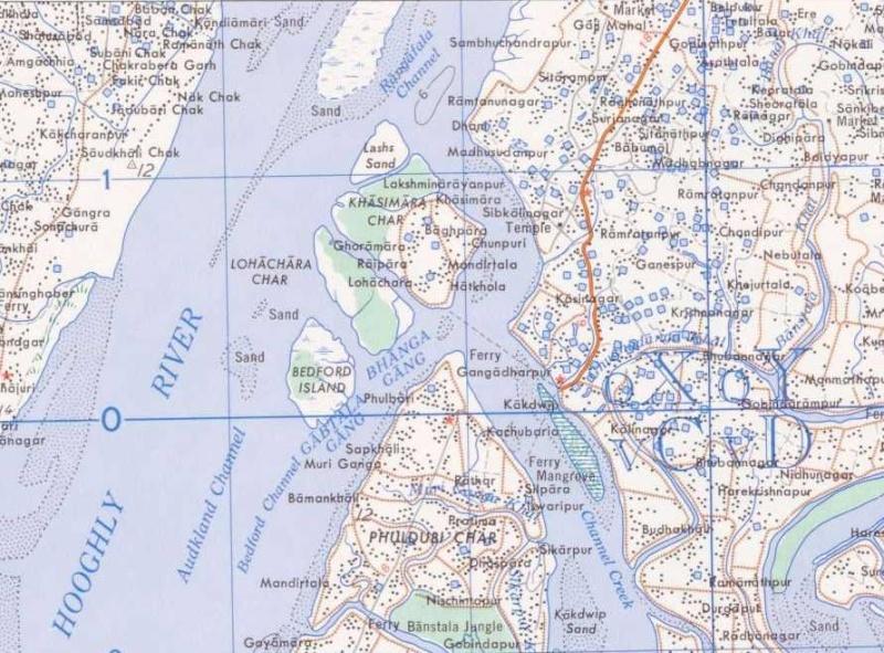 Ile disparue - Lohachara - Delta du Gange - Inde Loha10
