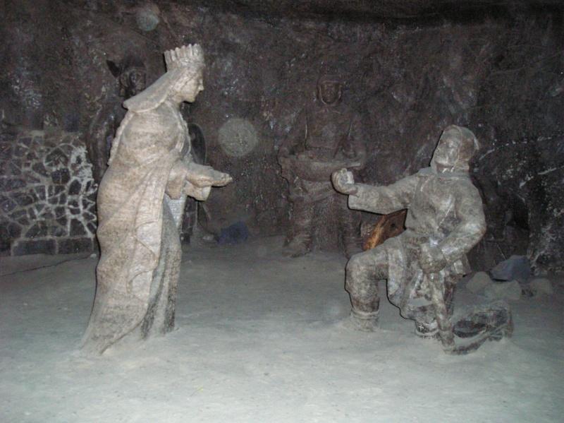 Mines de sel royales de Wieliczka - Pologne. P5310410