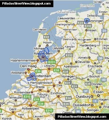 Autres systèmes du type STREETVIEW dans le Monde Pays_b10
