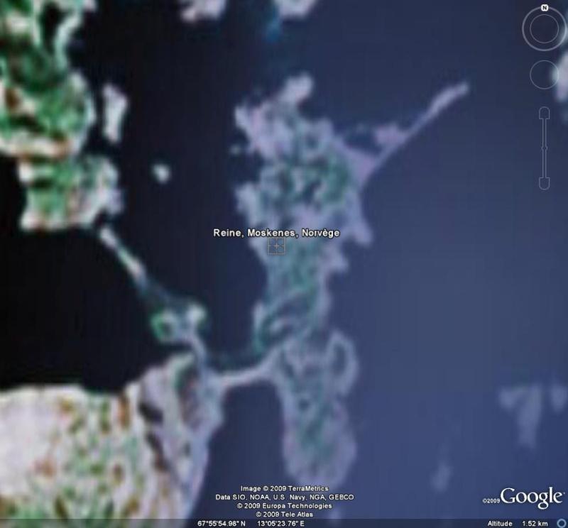 Google Earth et les AUTRES sites d'imagerie satellitaire. Reine10
