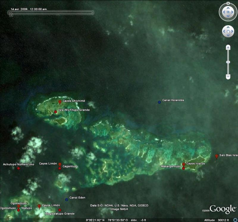 Geoeye sur GE avec SAS Planet [Surcouche / Overlay pour Google Earth] San_bl12