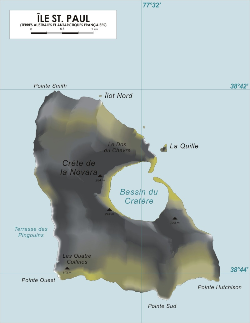 Ile Saint-Paul, Océan Pacifique Stpaul10