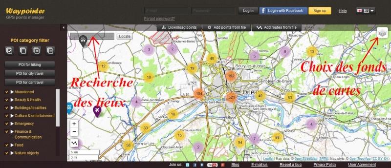 POI's de Waypointer vers Google Earth Waypoi11