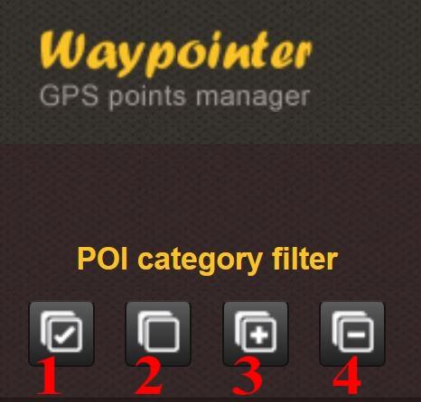POI's de Waypointer vers Google Earth Waypoi12