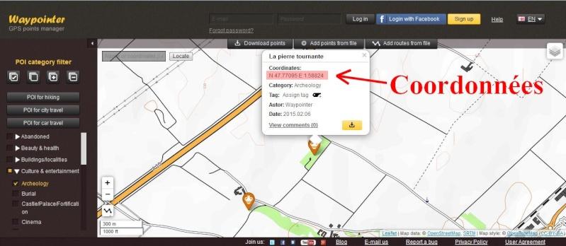 POI's de Waypointer vers Google Earth Waypoi15