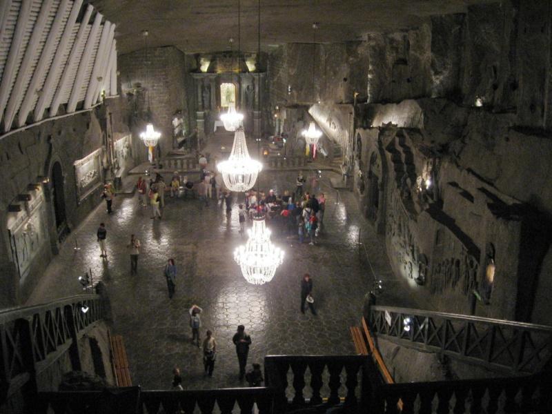 Mines de sel royales de Wieliczka - Pologne. Wielic11