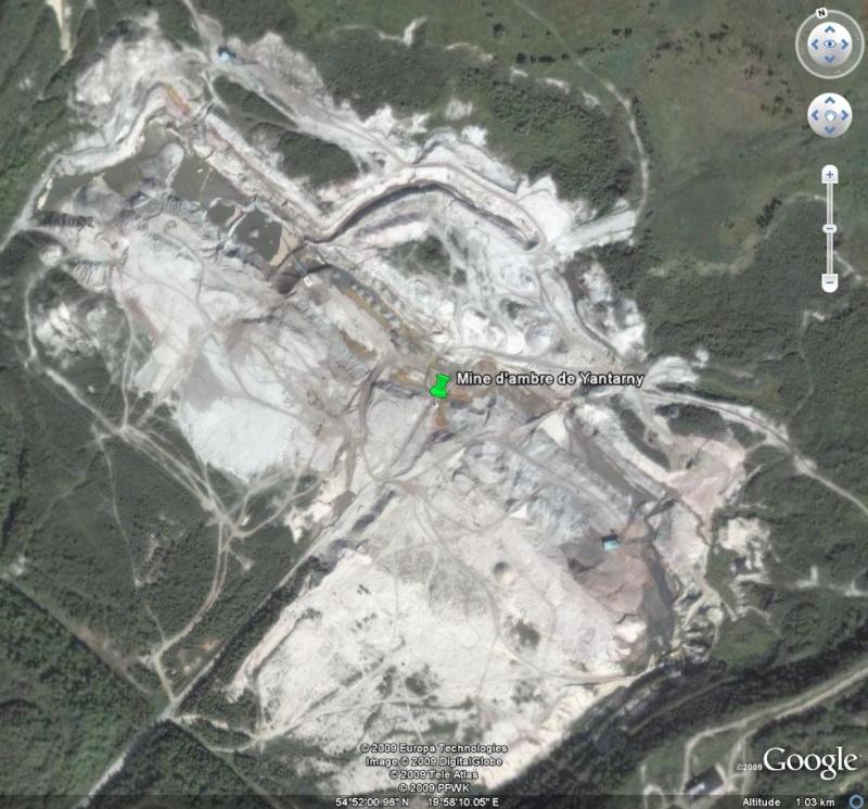 Mine d'ambre de Yantarny - Enclave de Kaliningrad - Russie Yantar11