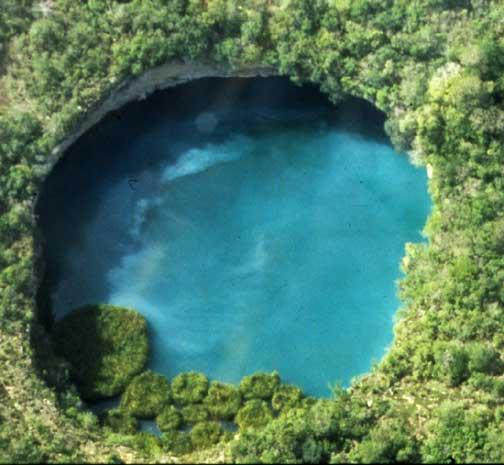 TROUS BLEUS & Cenotes  / Trou Marin / Trou Bleu / Blue Hole / Monde Zacato11