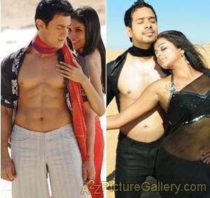 Bharath goes shirtless in Arumugham Image10