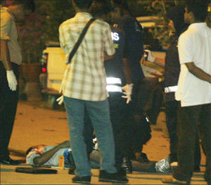 2 robbers killed in SHOOTOUT in Damansara Robber10