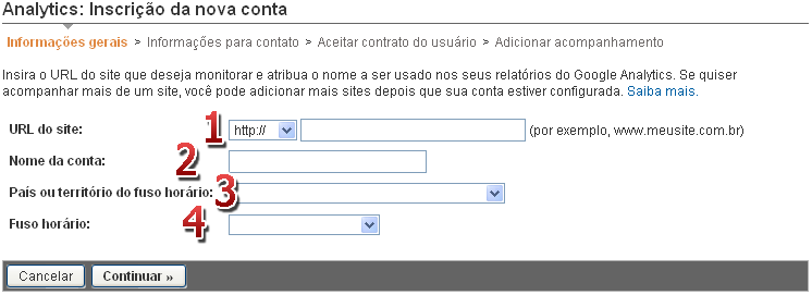 "[FAQ] Adicionar código ""Google Analytics"" 114"
