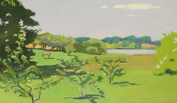 Fairfield Porter [Peintre] A241