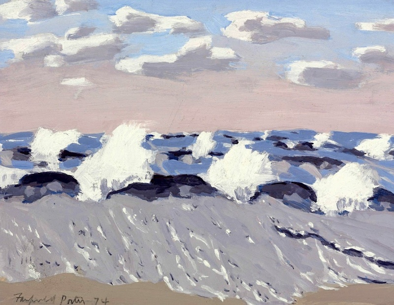 Fairfield Porter [Peintre] Aa45
