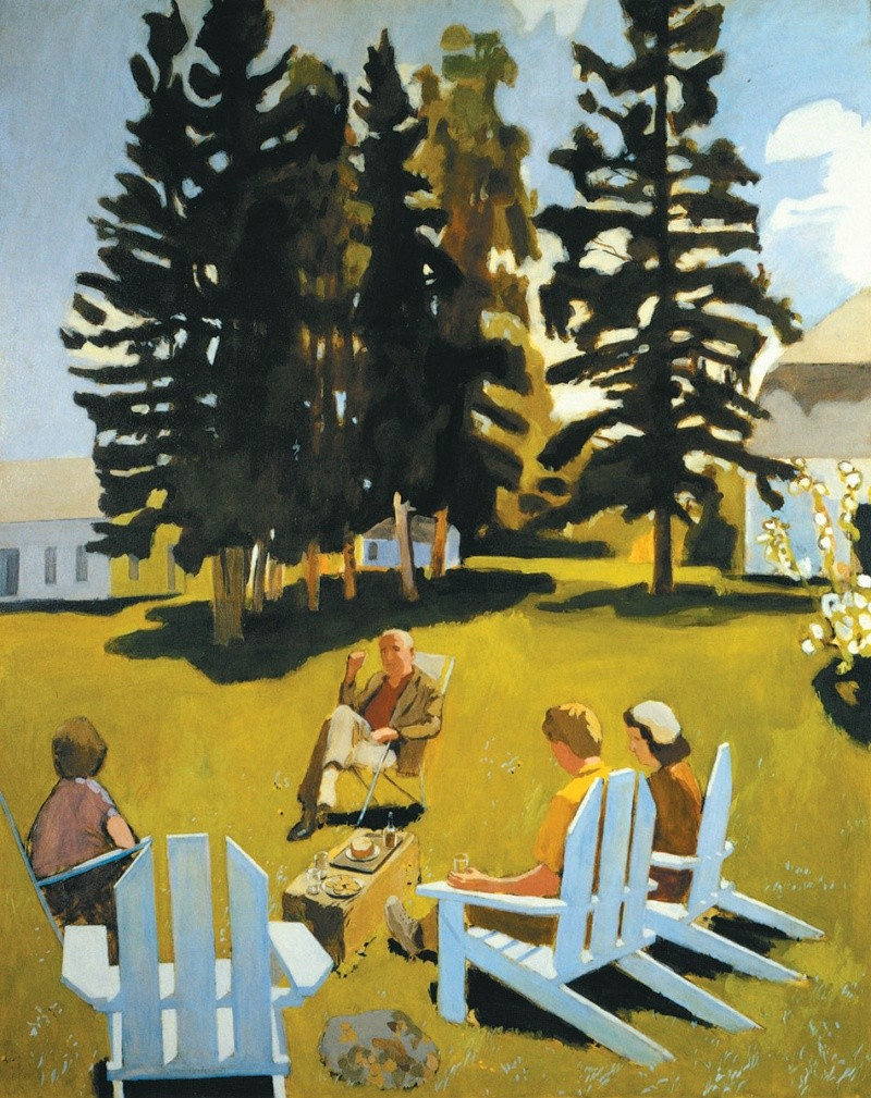 Fairfield Porter [Peintre] Aa47