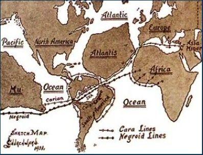 LA CRETE, BERCEAU DE L'HUMANITE ? CITE ATLANTE ? les indiens HOPI... ET SI L'ANTARTIQUE  ???? Atlant12