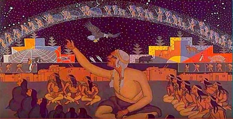 LA CRETE, BERCEAU DE L'HUMANITE ? CITE ATLANTE ? les indiens HOPI... ET SI L'ANTARTIQUE  ???? Hopi_111