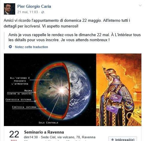 PIER GIORGIO CARIA.... GIORGIO BONGIOVANNI... ET LEURS AMIS....  LES ACROGLYPHES DANS LE MONDE  Terre10