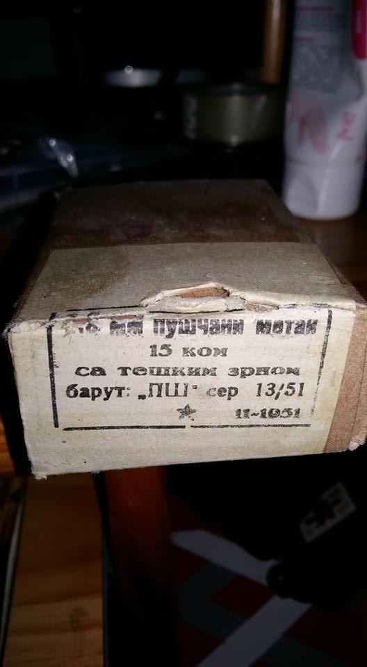 8 x 57 surplus Yougoslave 13007310