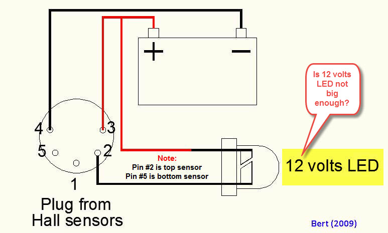 Hall effect sensor testing.  K100_t10
