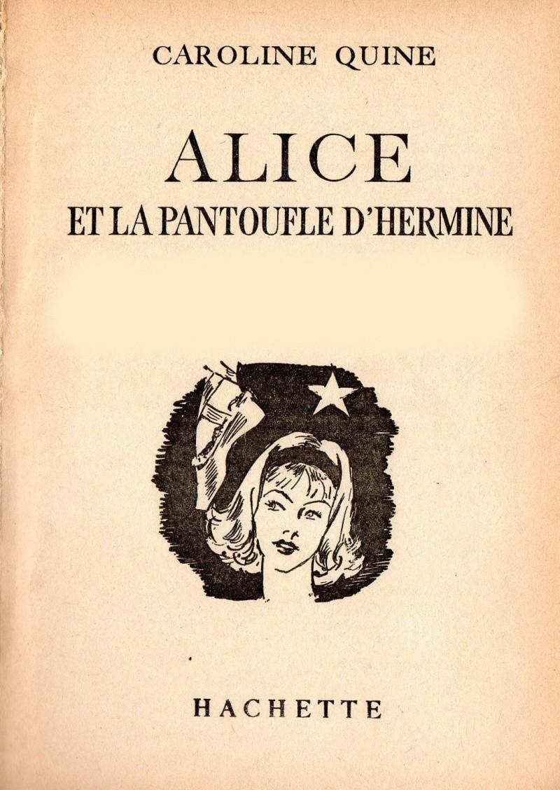 Recherches sur les anciennes éditions d'Alice (Titres 16 à 30)  21alic10