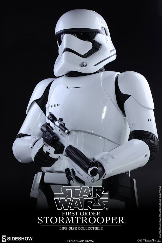 Hot Toys TFA First Order Stormtrooper Life-Size Collectible 12496110
