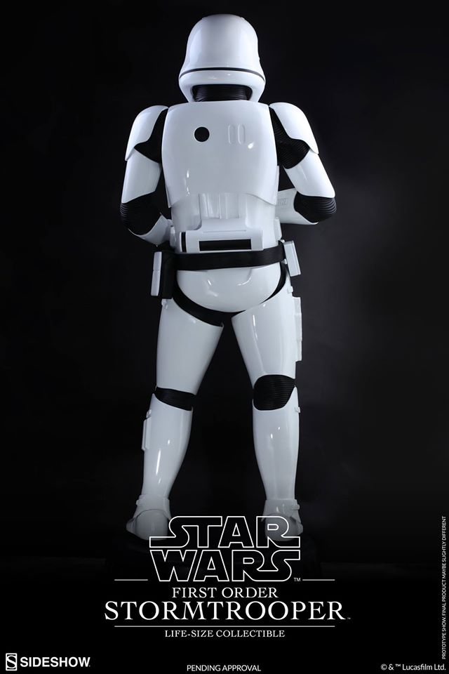 Hot Toys TFA First Order Stormtrooper Life-Size Collectible 12671710