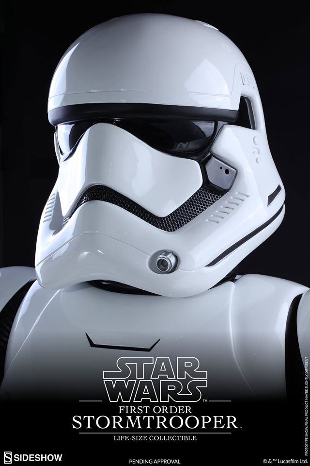 Hot Toys TFA First Order Stormtrooper Life-Size Collectible 12901210