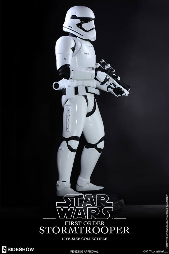 Hot Toys TFA First Order Stormtrooper Life-Size Collectible 12916310
