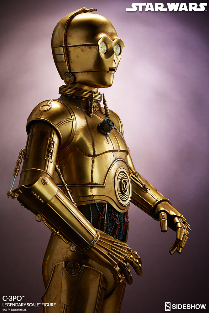 Sideshow Collectibles - C-3PO & R2-D2 Legendary Scale Figure Star-w10