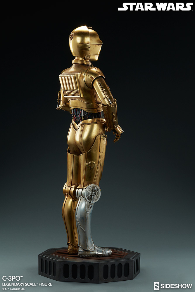 Sideshow Collectibles - C-3PO & R2-D2 Legendary Scale Figure Star-w11