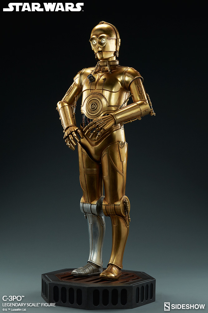 Sideshow Collectibles - C-3PO & R2-D2 Legendary Scale Figure Star-w12