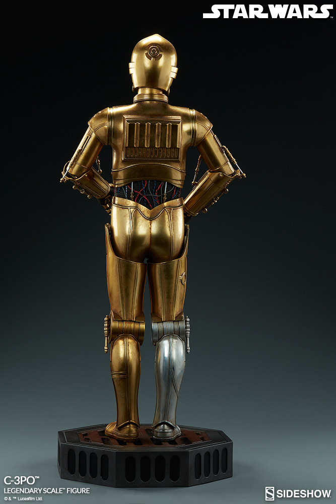 Sideshow Collectibles - C-3PO & R2-D2 Legendary Scale Figure Star-w13
