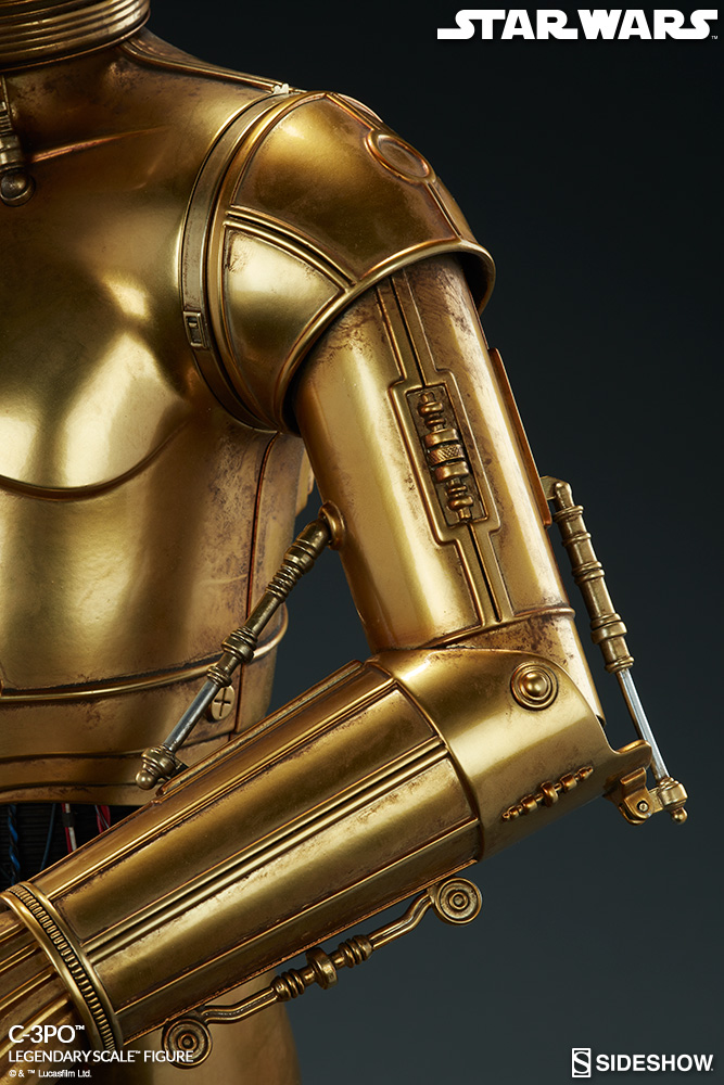 Sideshow Collectibles - C-3PO & R2-D2 Legendary Scale Figure Star-w14