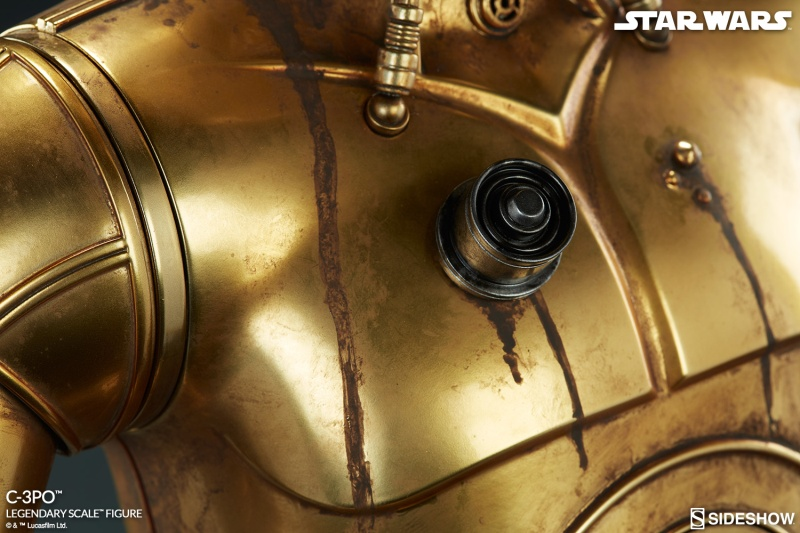 Sideshow Collectibles - C-3PO & R2-D2 Legendary Scale Figure Star-w16