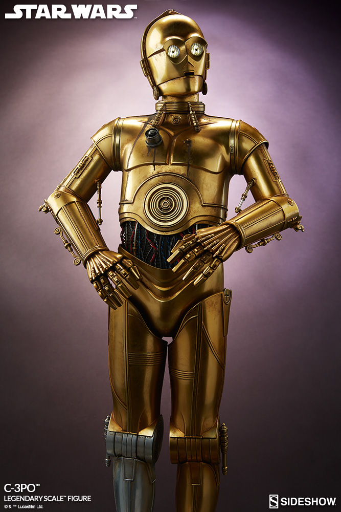 Sideshow Collectibles - C-3PO & R2-D2 Legendary Scale Figure Star-w17