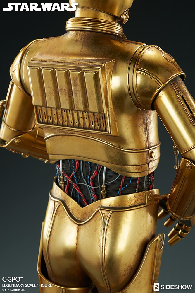 Sideshow Collectibles - C-3PO & R2-D2 Legendary Scale Figure Star-w18