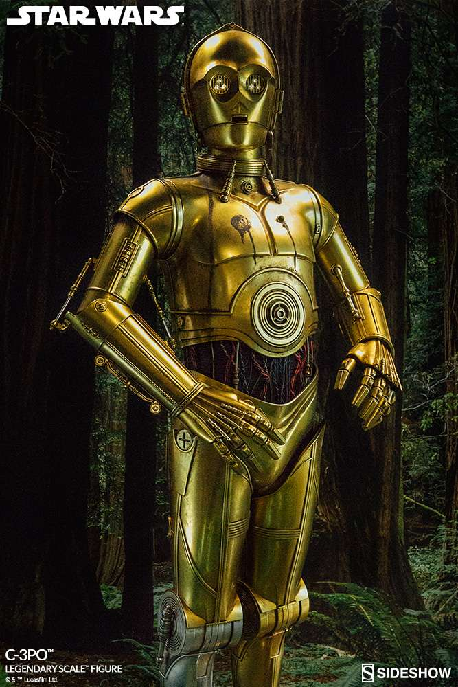 Sideshow Collectibles - C-3PO & R2-D2 Legendary Scale Figure Star-w19