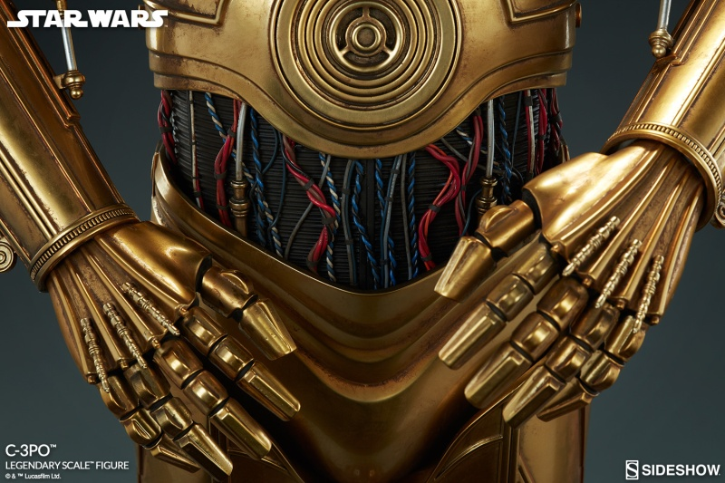 Sideshow Collectibles - C-3PO & R2-D2 Legendary Scale Figure Star-w20