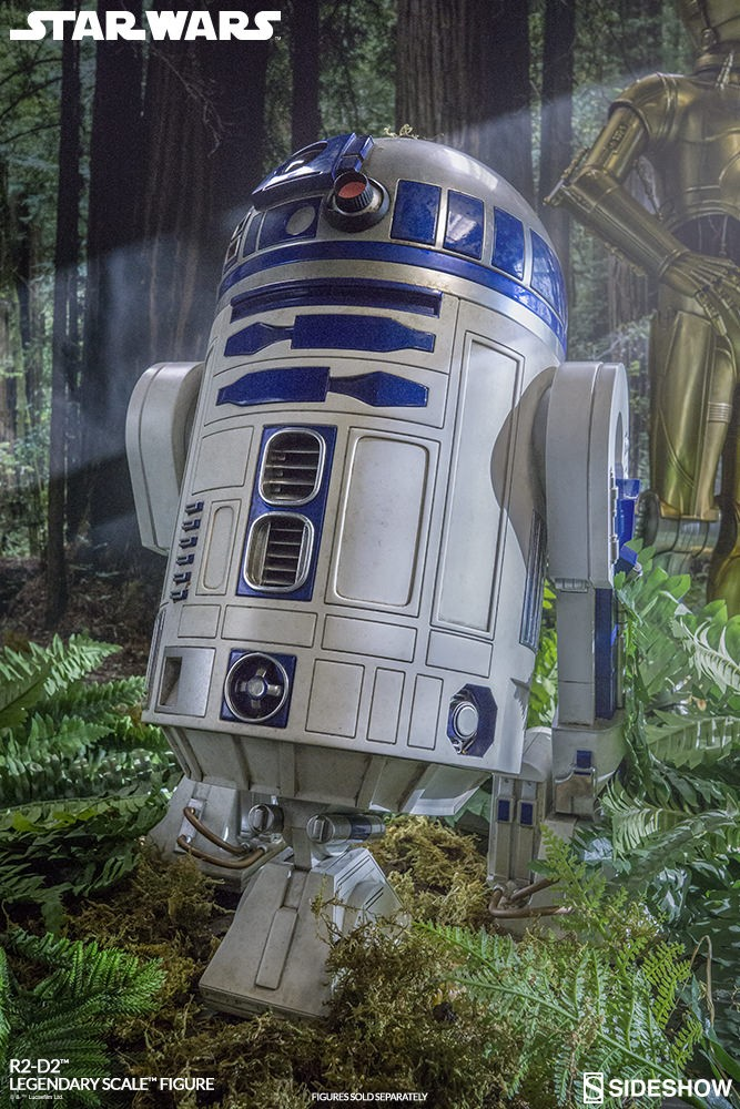 Sideshow Collectibles - C-3PO & R2-D2 Legendary Scale Figure Star-w24