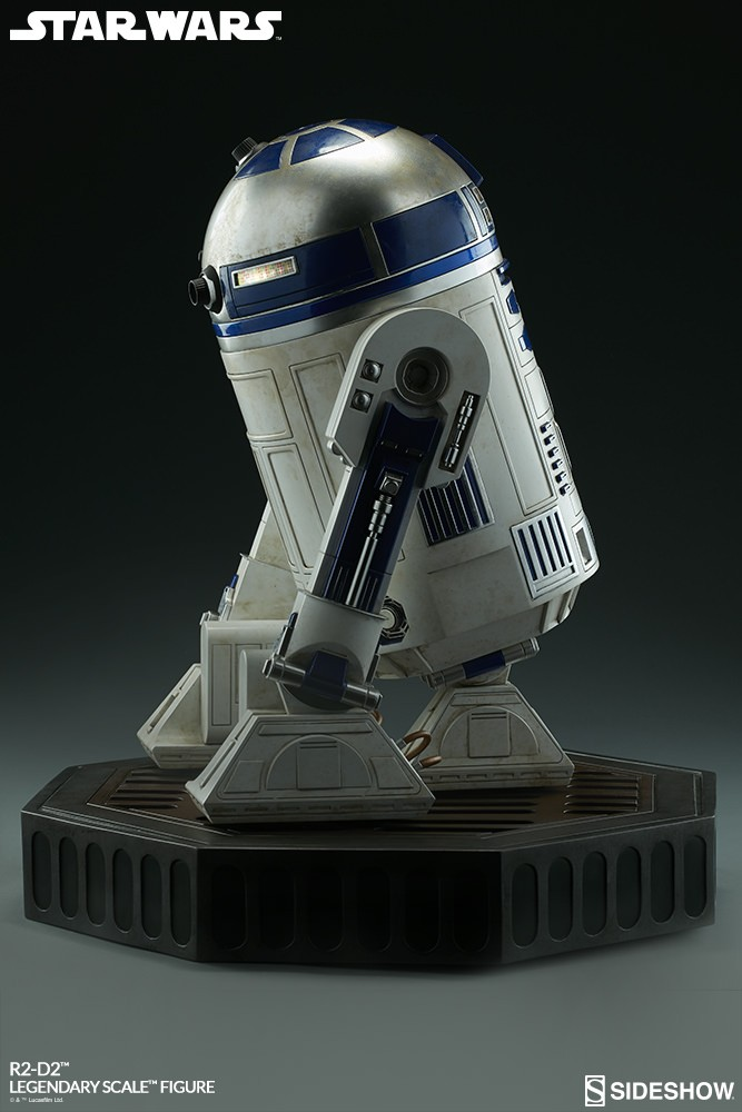 Sideshow Collectibles - C-3PO & R2-D2 Legendary Scale Figure Star-w26