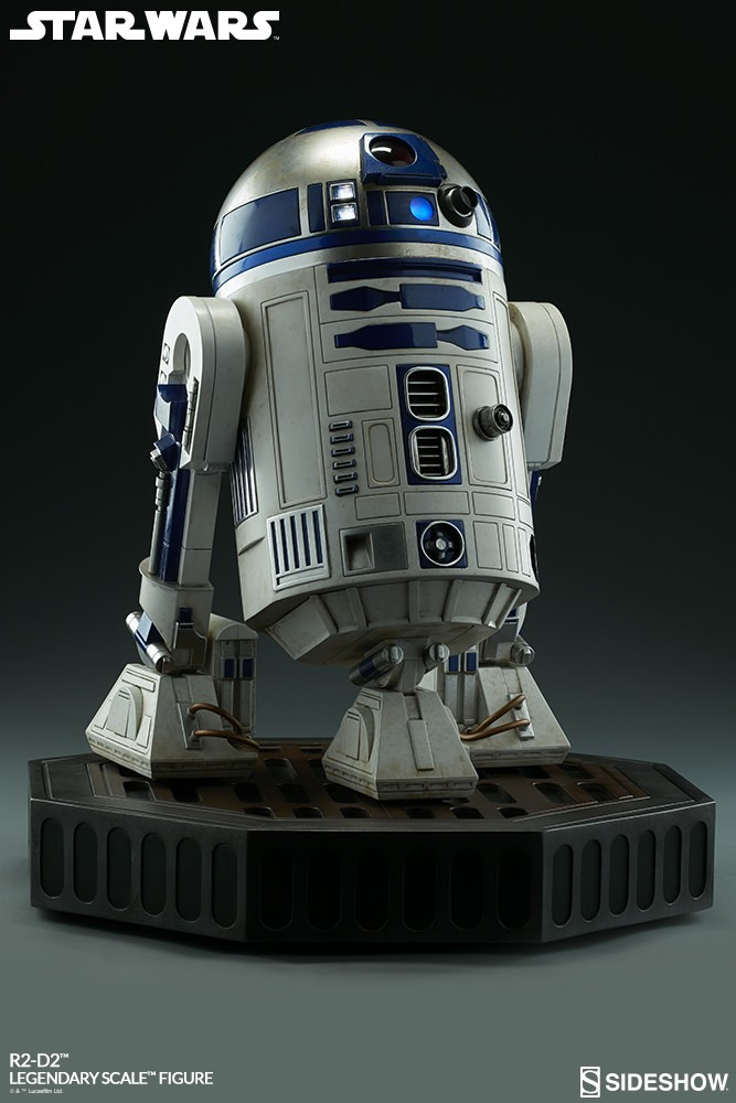 Sideshow Collectibles - C-3PO & R2-D2 Legendary Scale Figure Star-w27