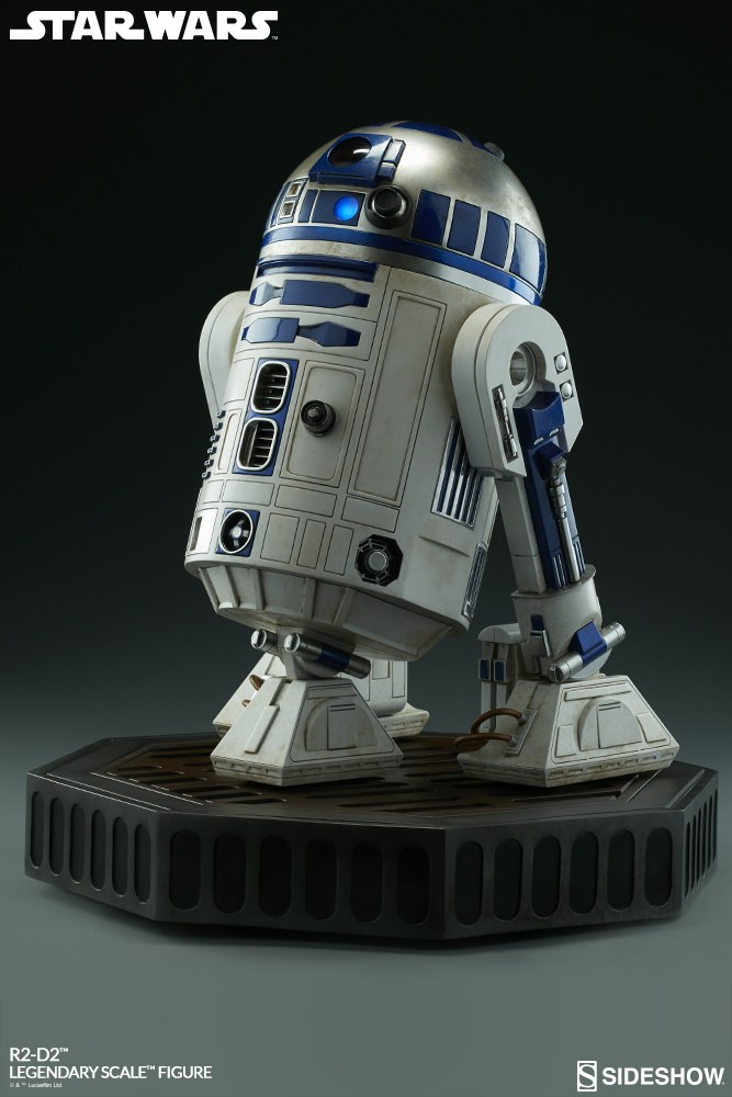 Sideshow Collectibles - C-3PO & R2-D2 Legendary Scale Figure Star-w28