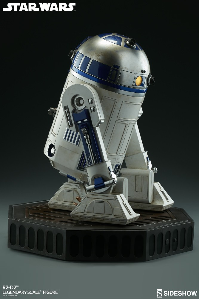 Sideshow Collectibles - C-3PO & R2-D2 Legendary Scale Figure Star-w29