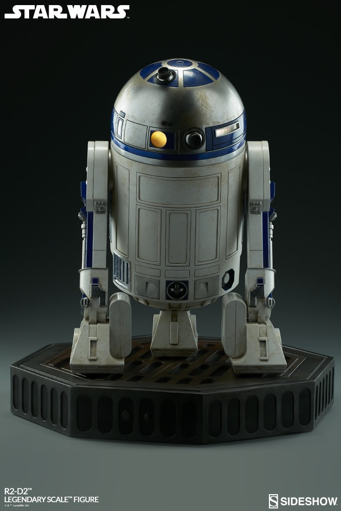 Sideshow Collectibles - C-3PO & R2-D2 Legendary Scale Figure Star-w30